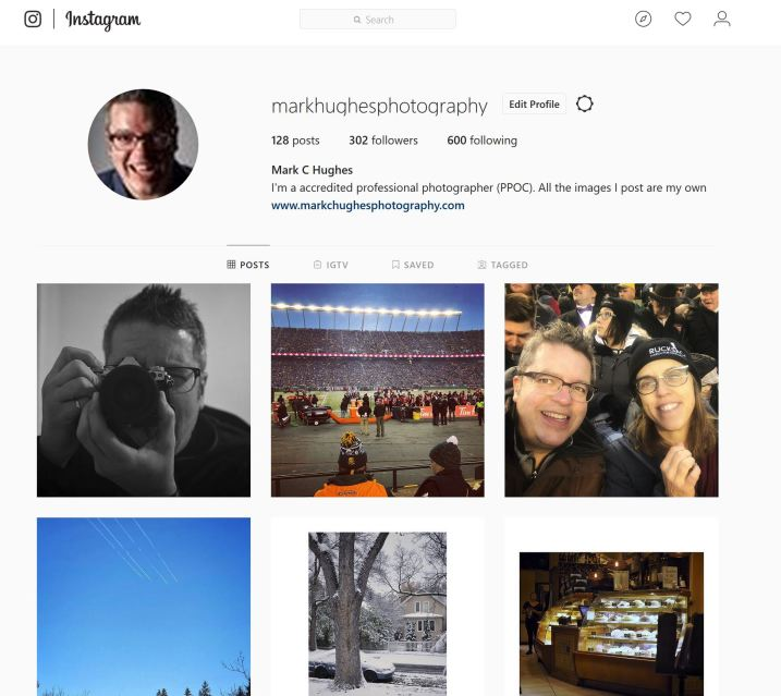 Image: Instagram is where many images will end up being posted