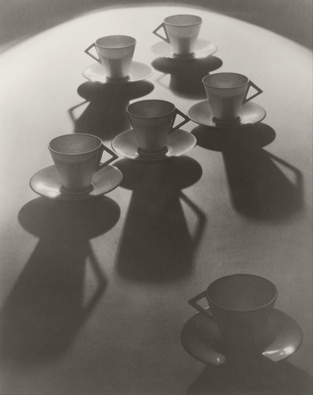 """Image: """"Teacup Ballet"""" by Olive Cotton. Image courtesy of Wikimedia"""