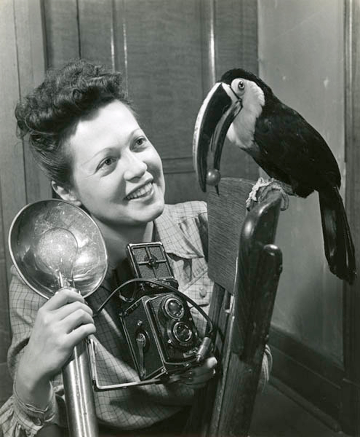 Image: Ylla photographing a toucan. Image courtesy of Wikipedia – ©Pryor Dodge at the English...
