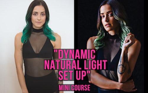 Dynamic Natural Light Set Up