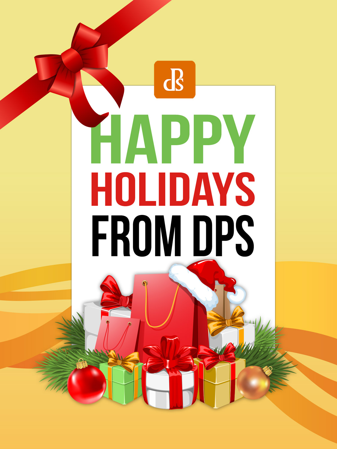 Happy Holidays 2018 from the dPS Team