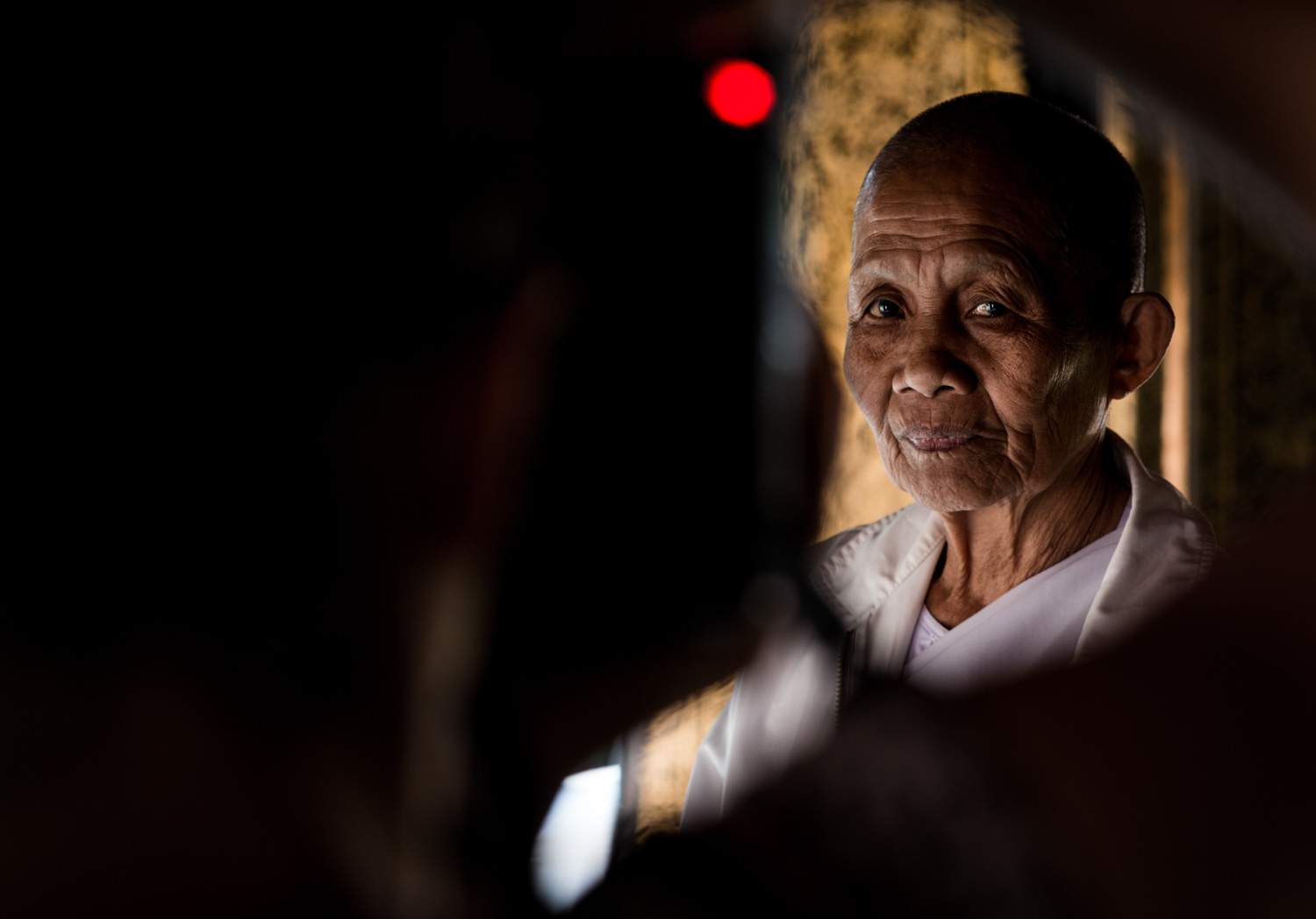 Buddhist Nun Finding Your Strength In Isolation - 3 Methods To Make Your Subject Pop!