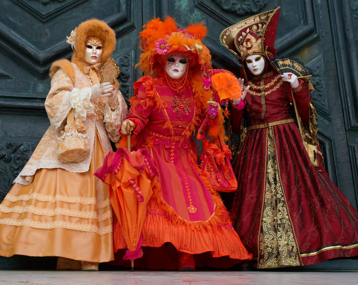Low angle photography - Venice Carnival