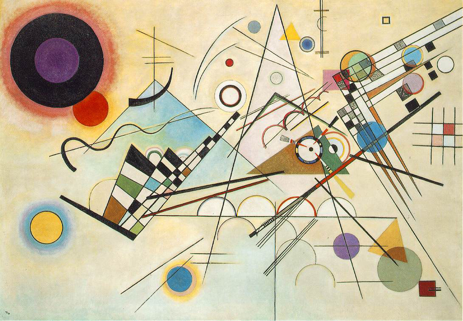Image: A painting by Wassily Kandinsky courtesy of Wikimedia Commons