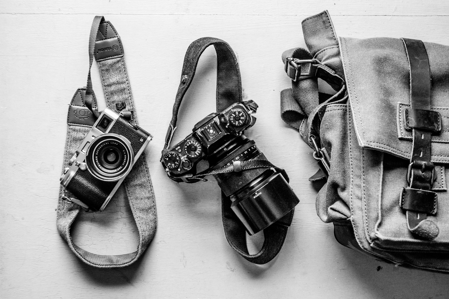 Image: It's not just about carrying your gear around. Your photography assistant takes on...