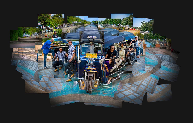 Tuktuk如何制作惊人的蒙太奇照片