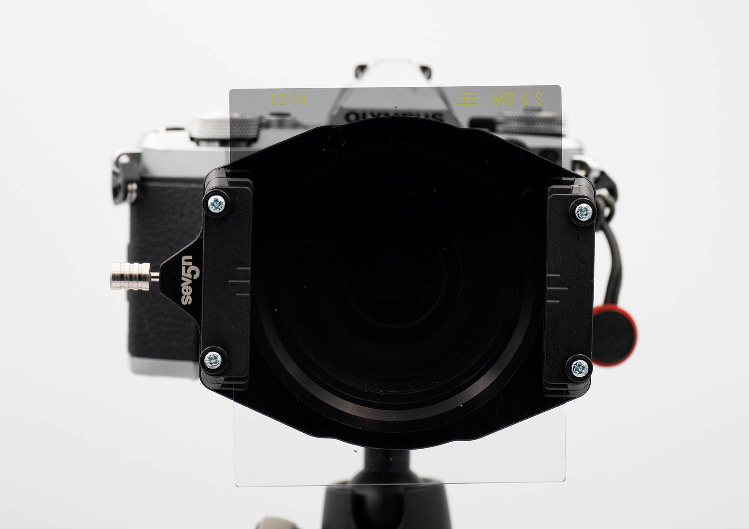 Image: Neutral Density Filters on the front element of the lens