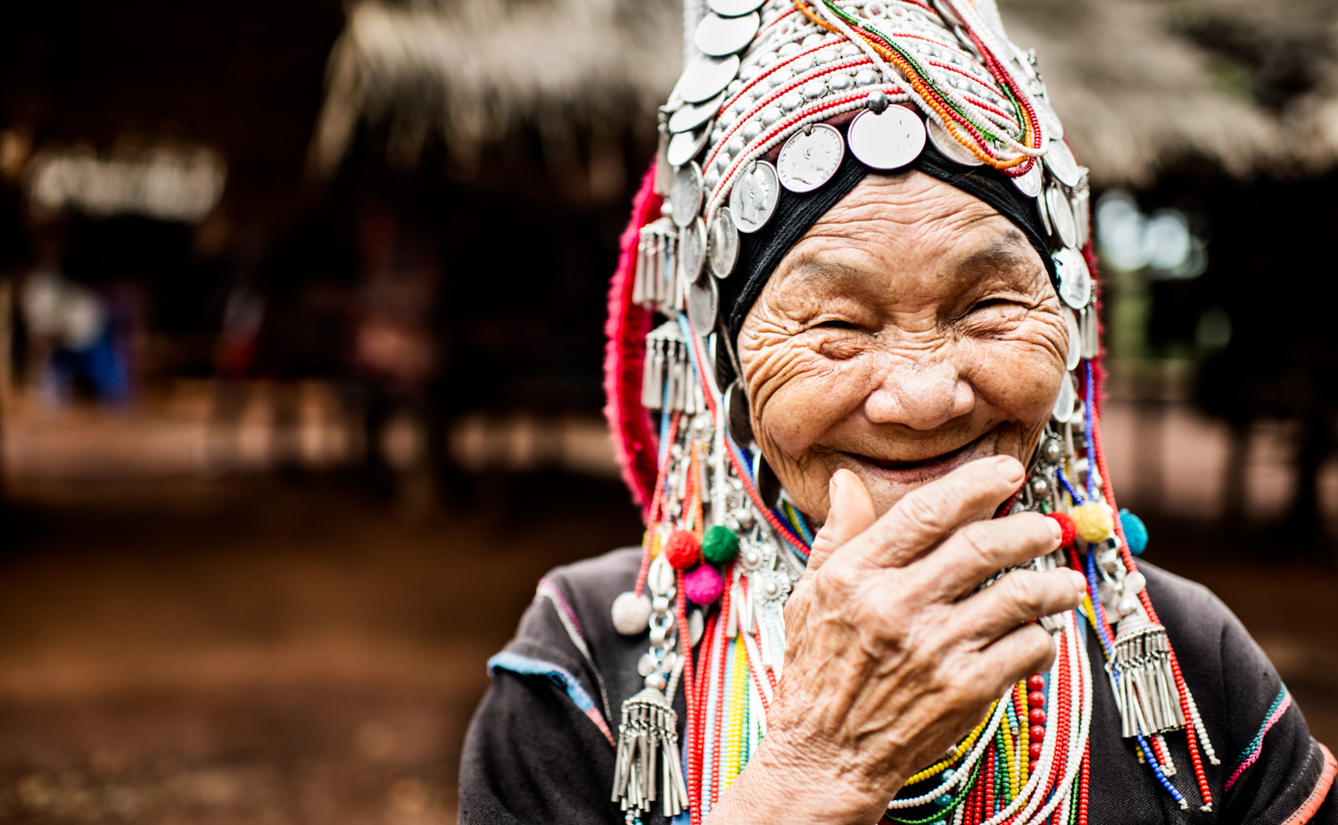 Akha Woman Laughing 15 Common Portrait Mistakes to Avoid