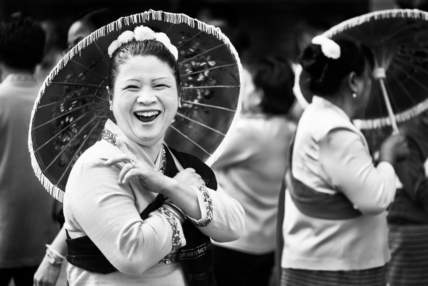 Laughing Lady How Using the Zone System Can Improve Your Photography