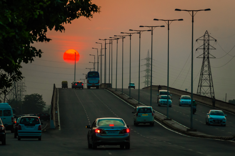 Image: Sunset In Gurgaon © Prasad Np