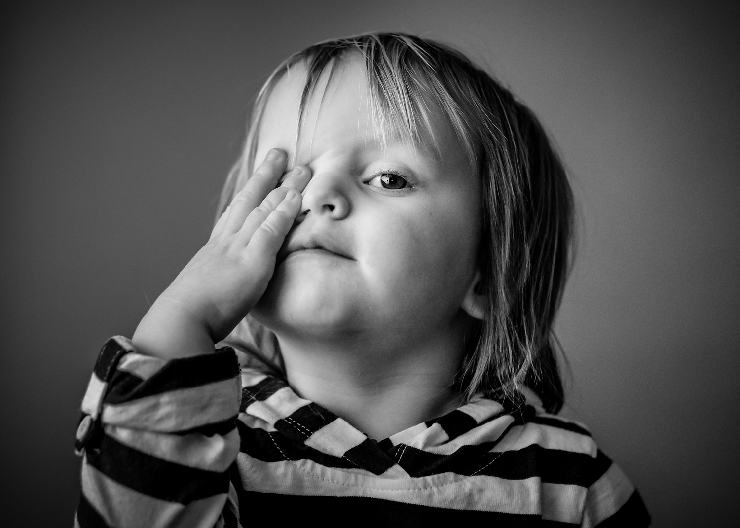 Image: If you need inspiration toward growth and learning as a photographer, look to the toddler. Th...