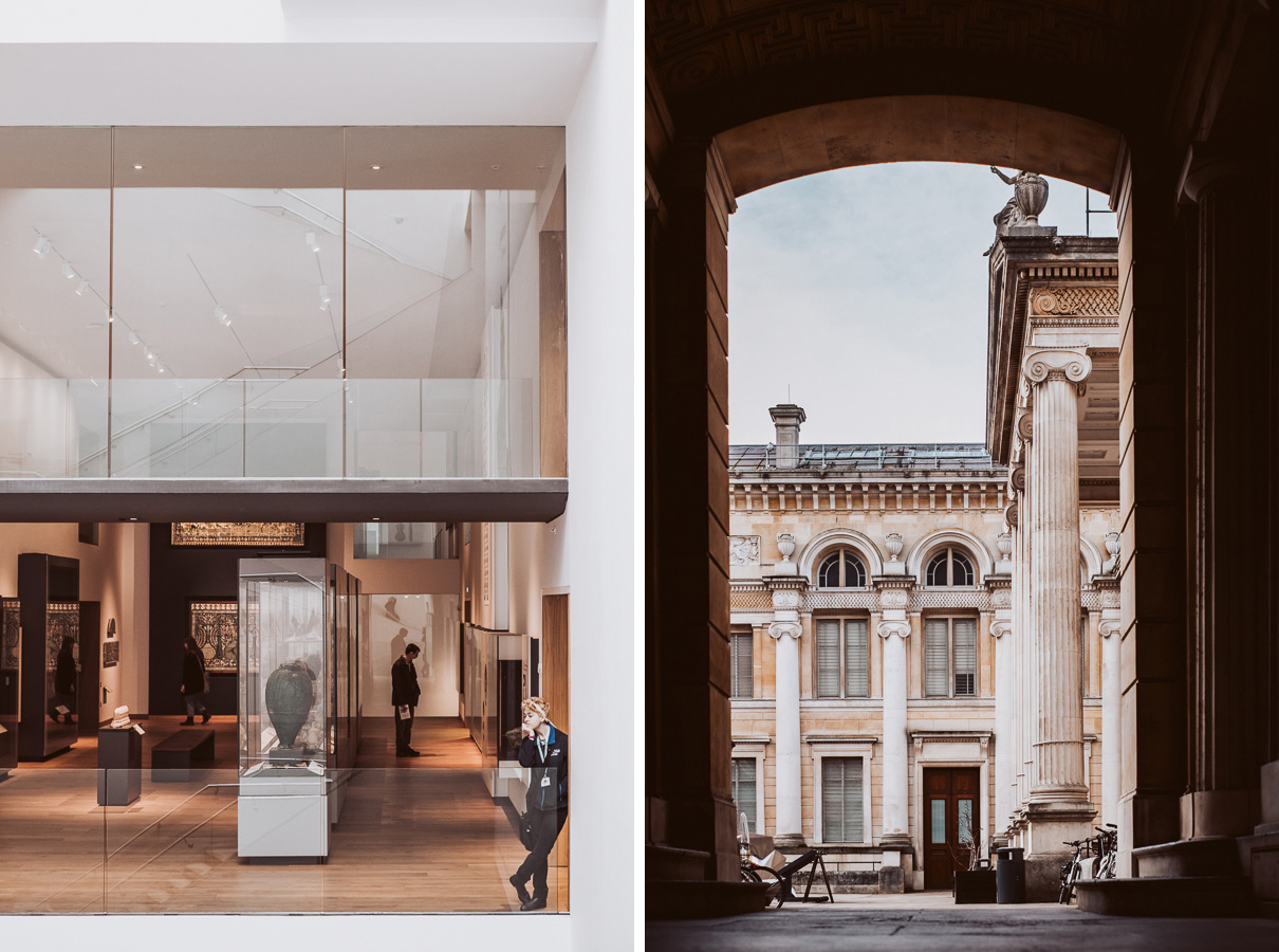 Two images of the Ashmolean Museum in Oxford. 5 - Can New Gear Kickstart Your Photography - Charlie Moss