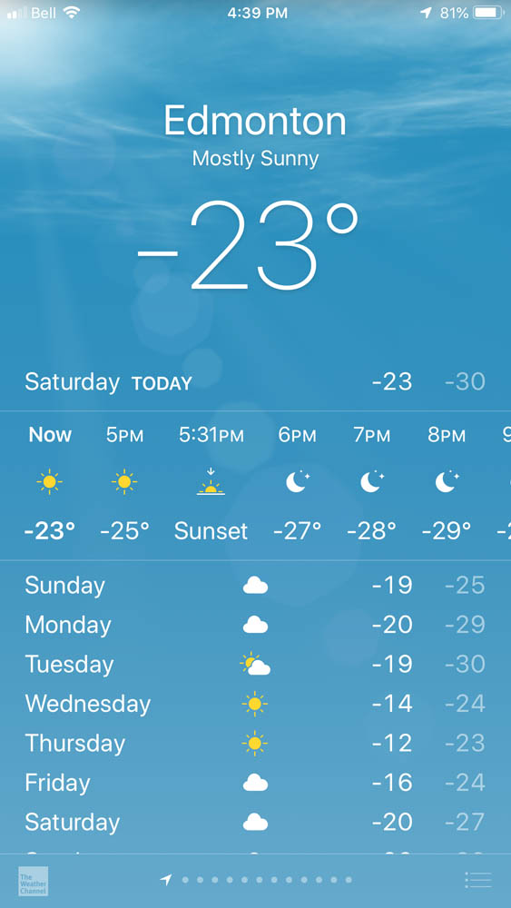 Image: It gets pretty cold here