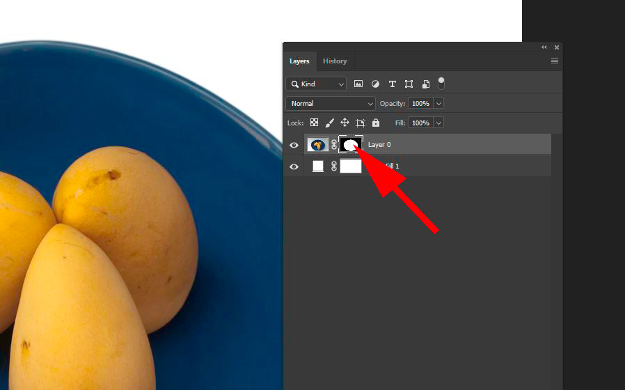 Seven Steps for Post Processing a Pure White Background Mask Icon