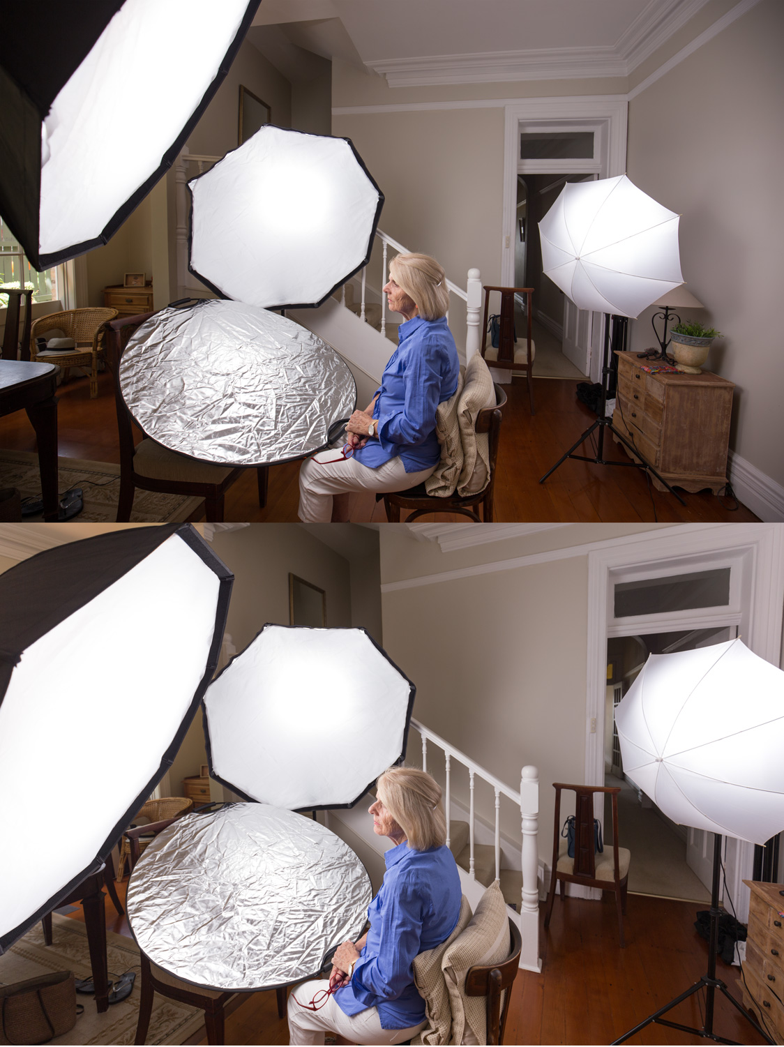 Image: Dropping your key light by just a small amount can have a dramatic difference to the final im...