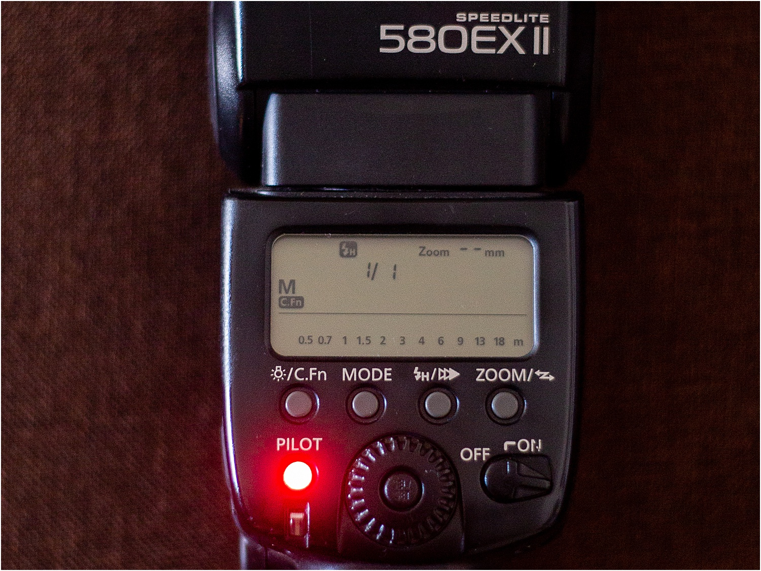 4 - Use of manual mode on your external flash