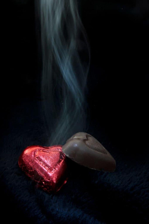 Abstract Smoke Photography - Pseudo Smoke Effect - Simulated Smoke