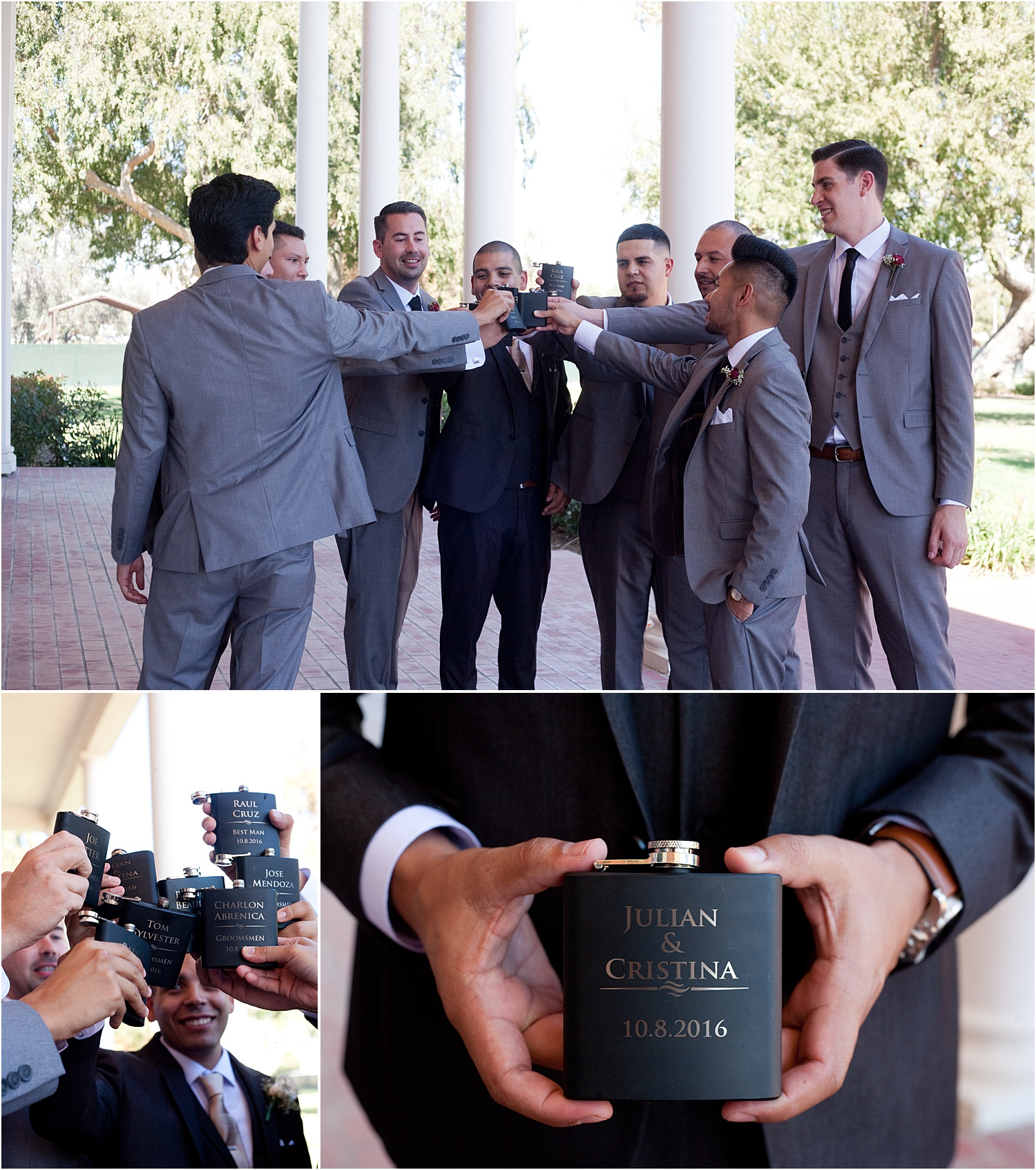 How to Pose Grooms and Groomsmen Effectively