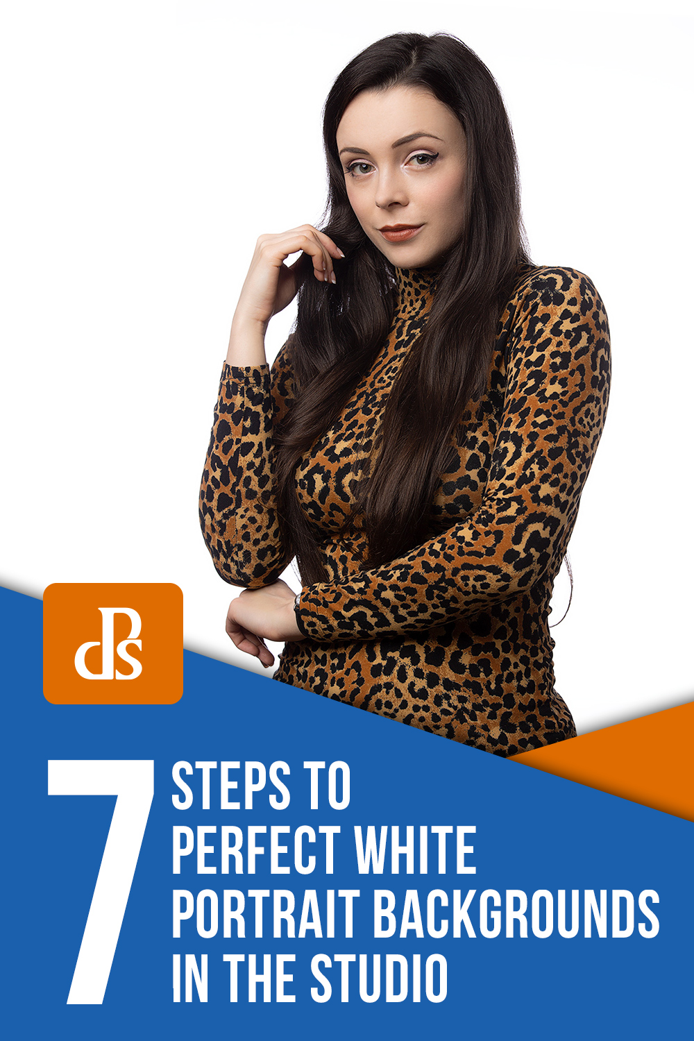 7 Steps to Perfect White Portrait Backgrounds in the Studio