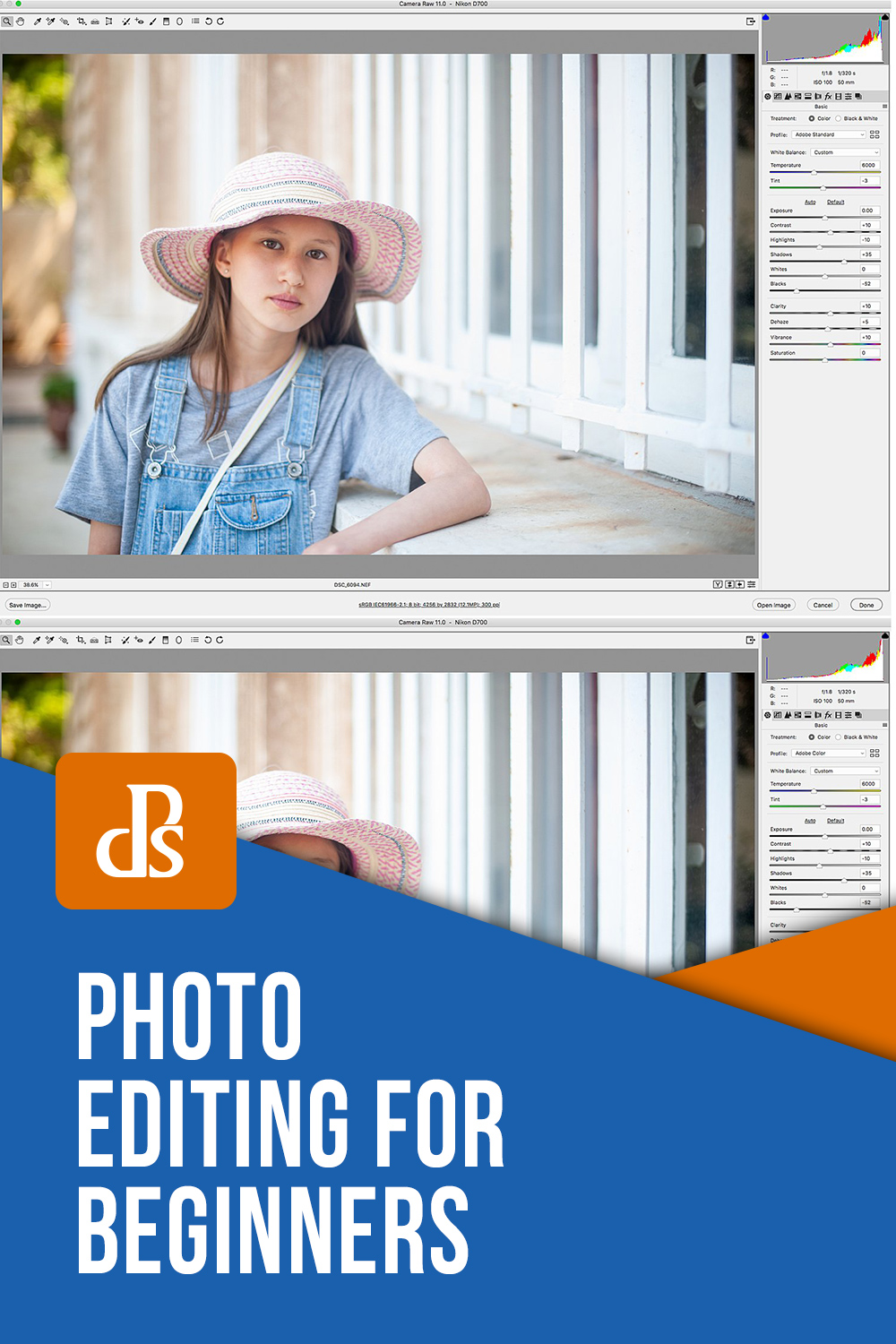 A Short Introduction to Basic Photo Editing for Beginners