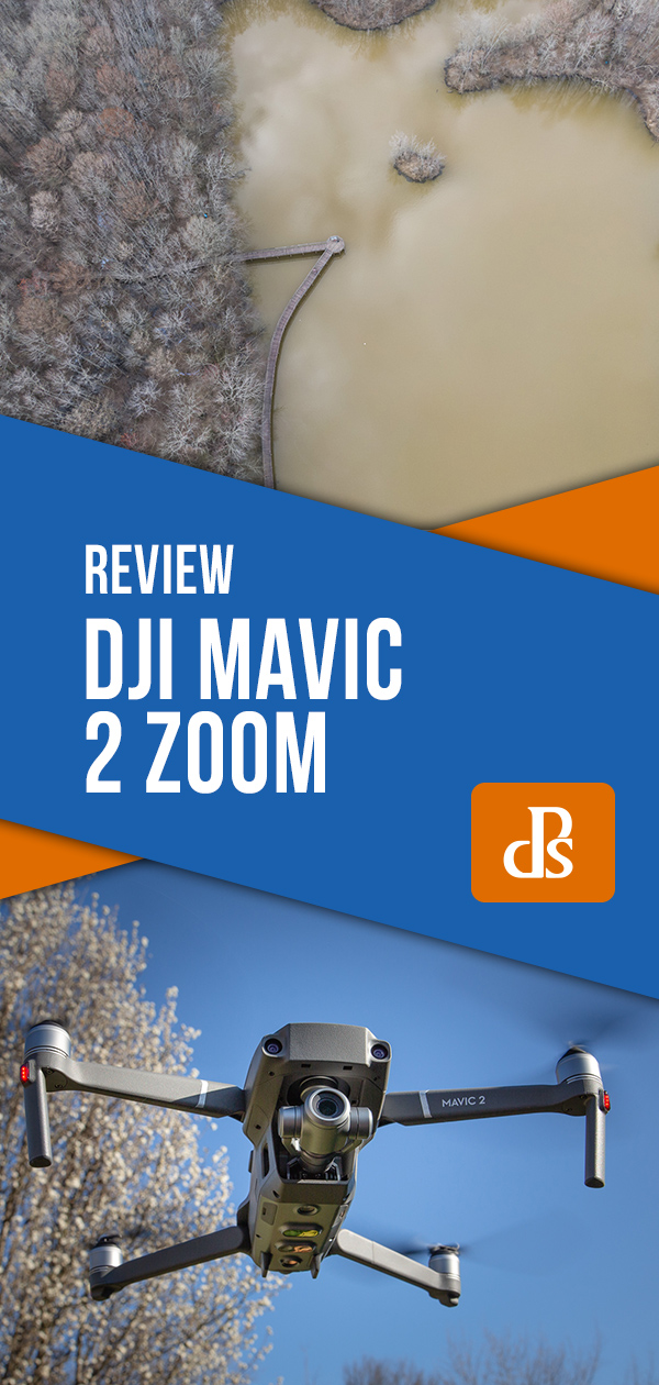 review of the DJI Mavic 2 Zoom Drone