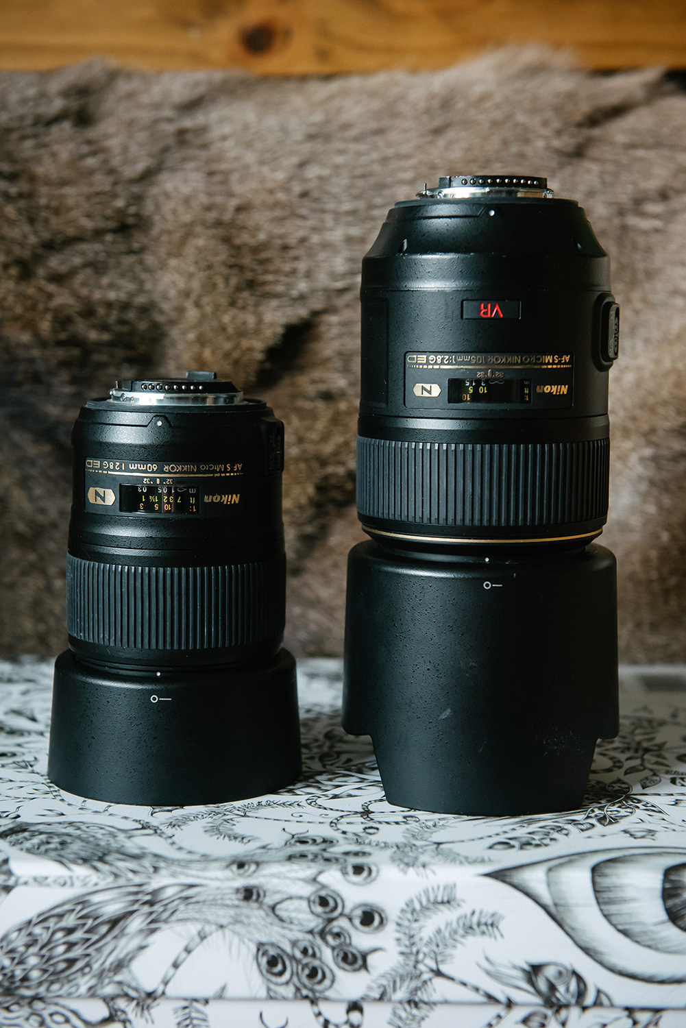 My thoughts on the Micro Nikkor 60mm f/2.8G Lens and the 105mm Macro