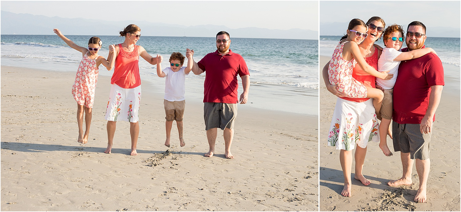 Image: The photo on the left was lifestyle, and the right is posed. Same family, same session, two d...