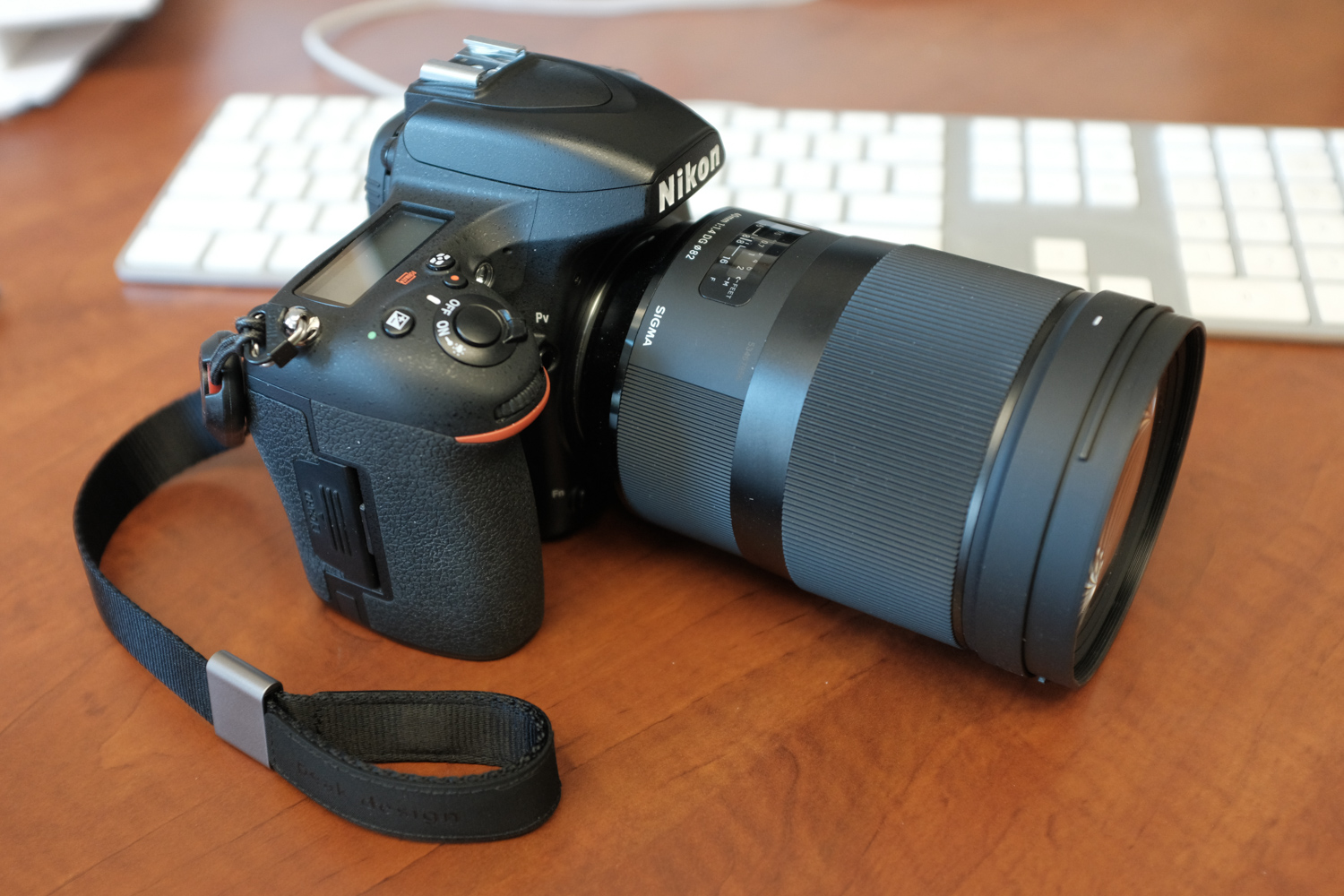 Image: This lens is so big several people thought I was using a zoom.