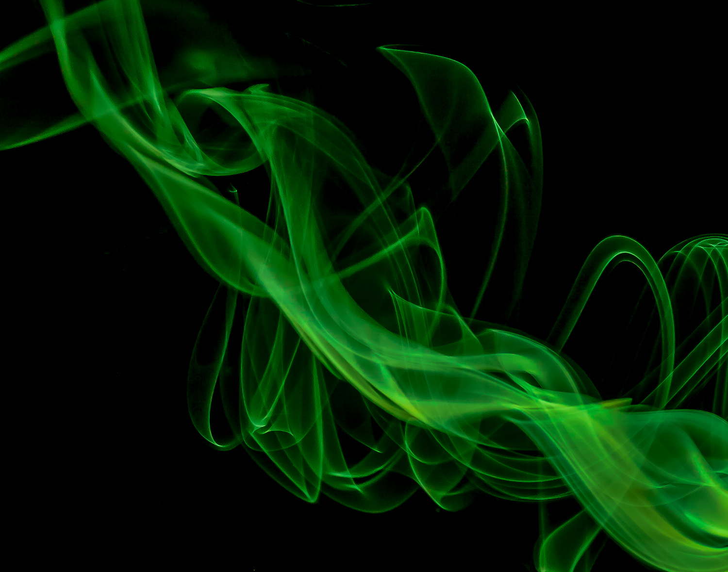 Abstract Smoke Photography - Alien Gas