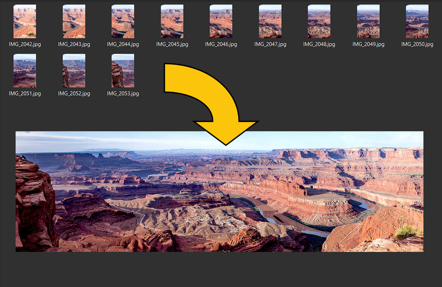 QnA VBage Make Easy Panoramic Images with Microsoft ICE