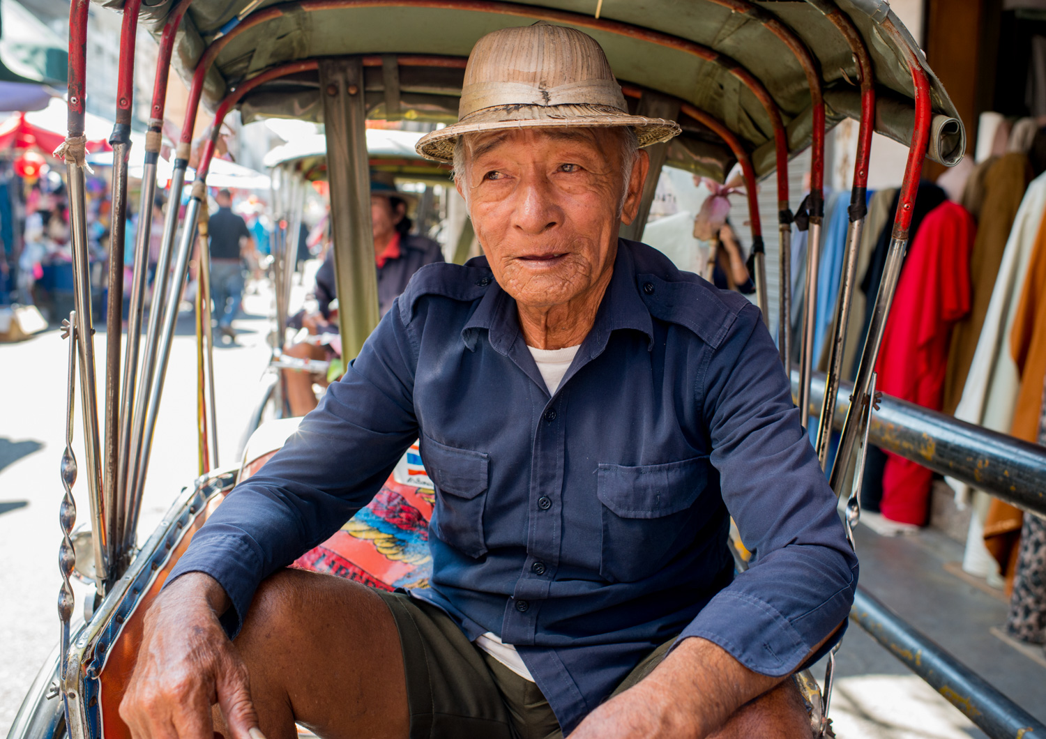 Taxi Rider in Chiang Mai, Thailand How to Create a Documentary Photography Project