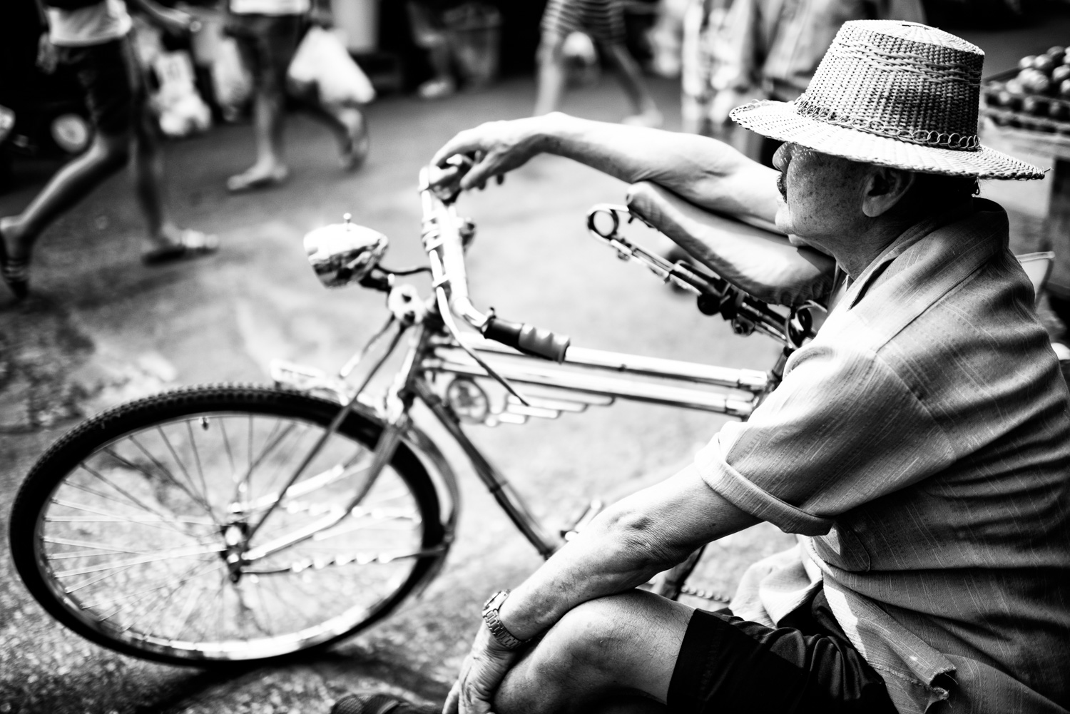 Tricycle Taxi Rest How to Create a Documentary Photography Project