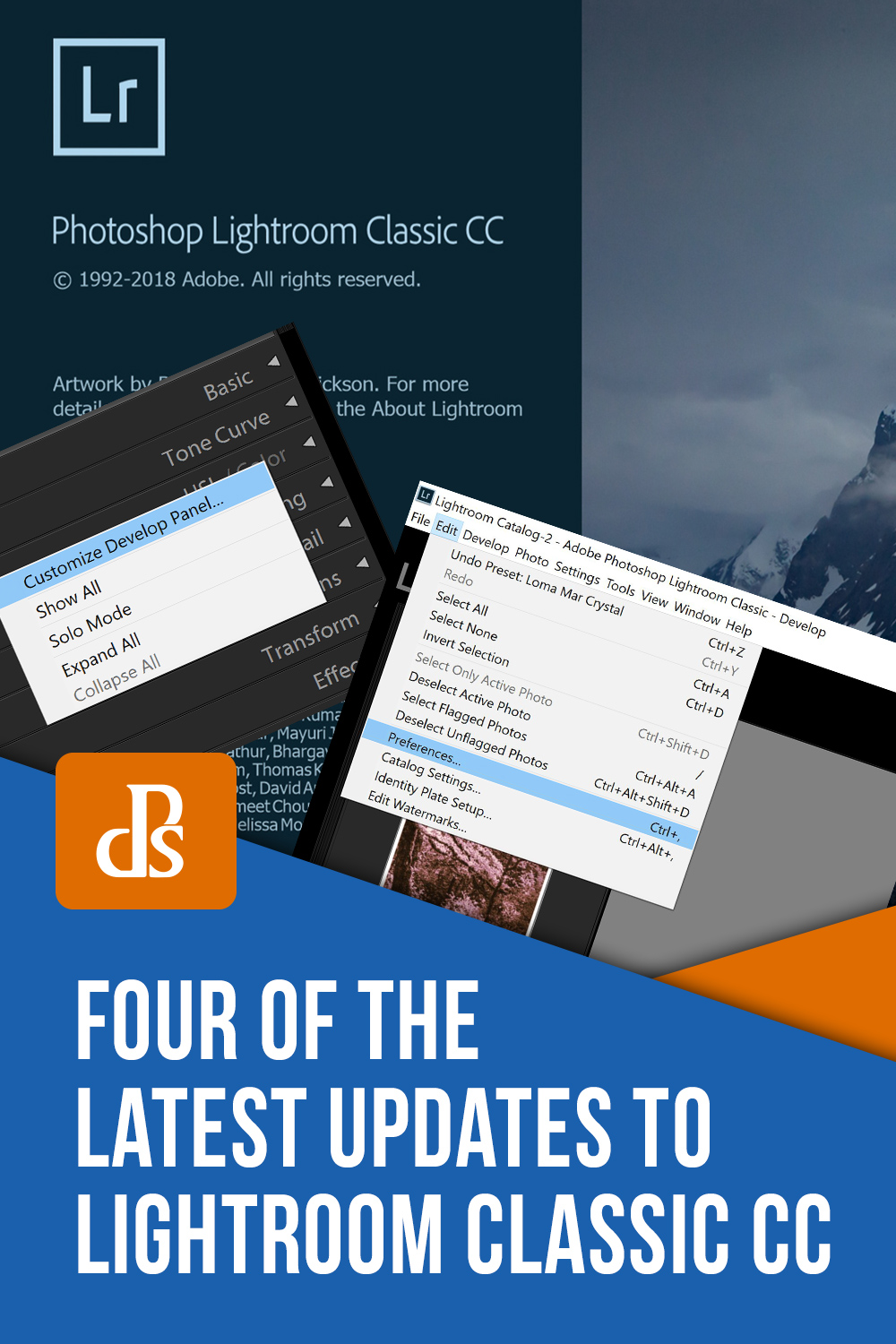 Four of the Latest Updates to Lightroom Classic CC