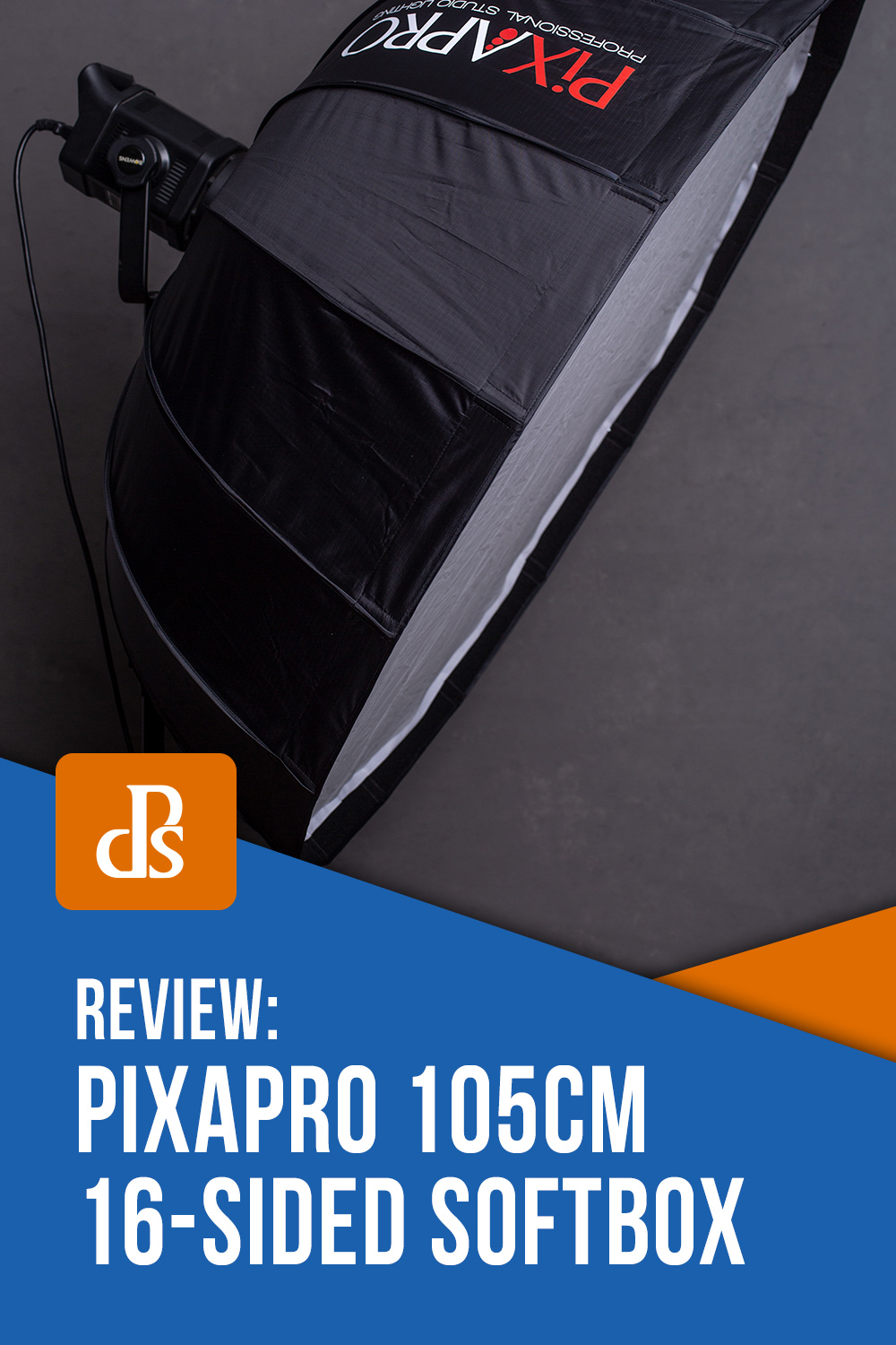 Review:  Pixapro 105cm 16-Sided Easy-Open Rice-Bowl Softbox