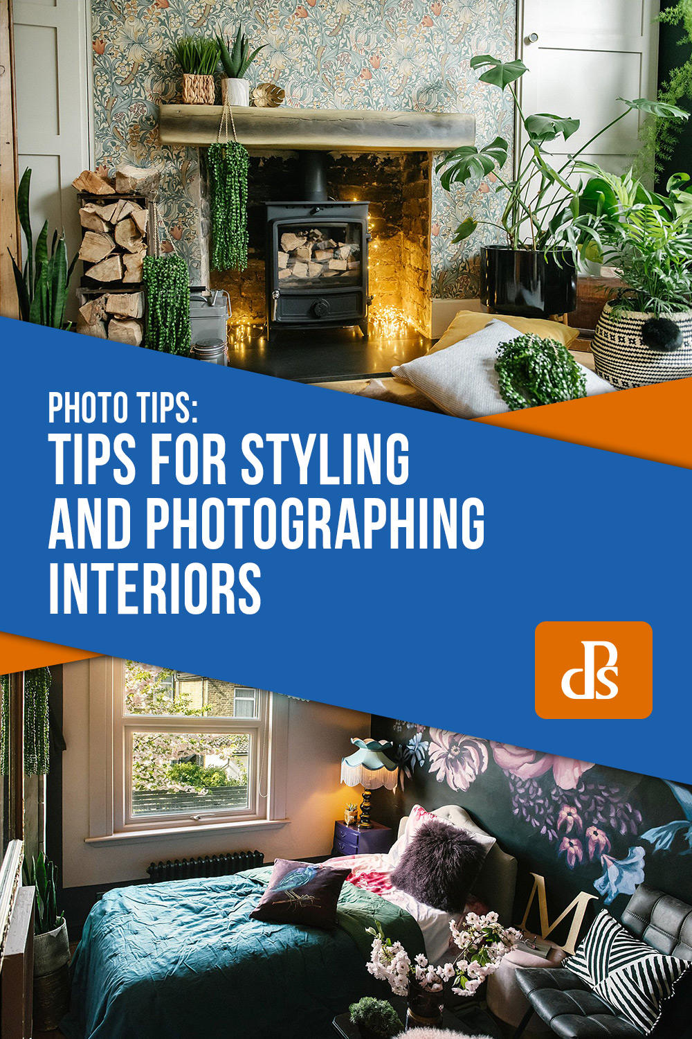 Tips for Styling and Photographing Interiors