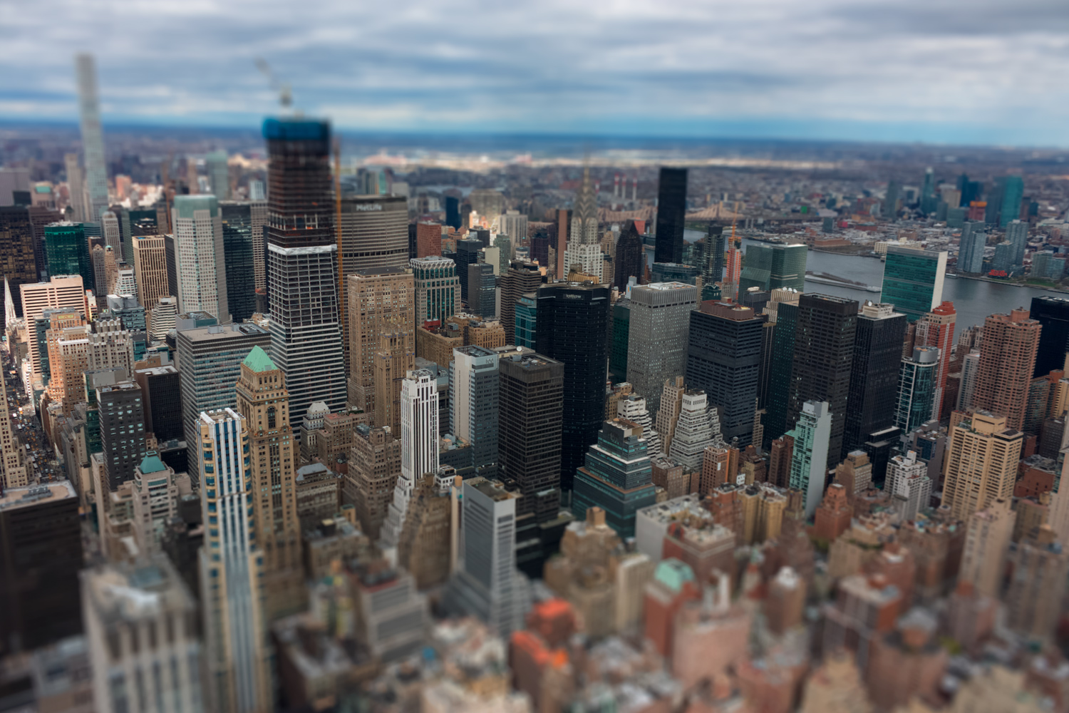 tilt-shift photo effect