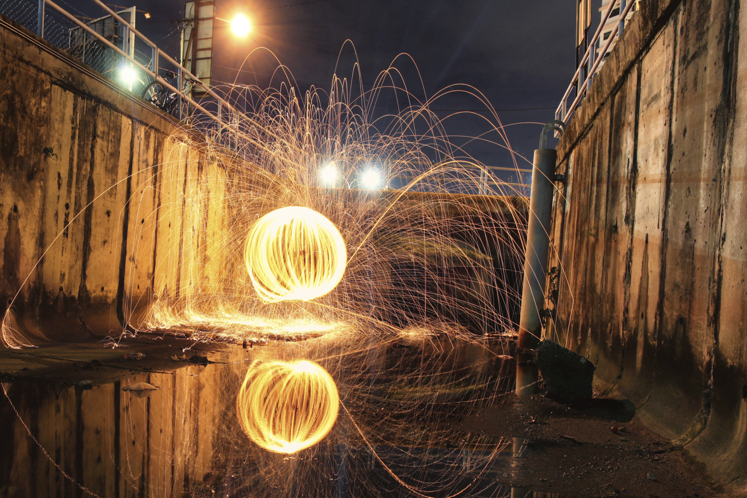 Image: Wire wool is fun to use, but be careful with it.