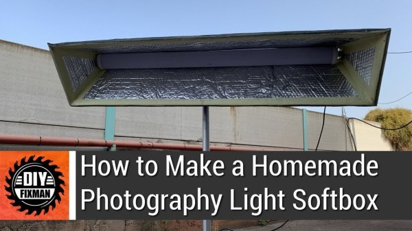How to Make a DIY Photography Softbox [video]