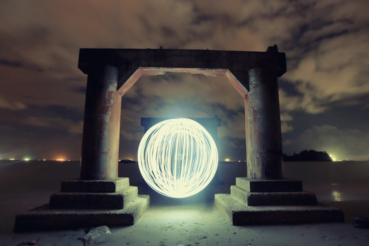 Image: Light orbs look great in photos, they take a bit of practice to get right though.