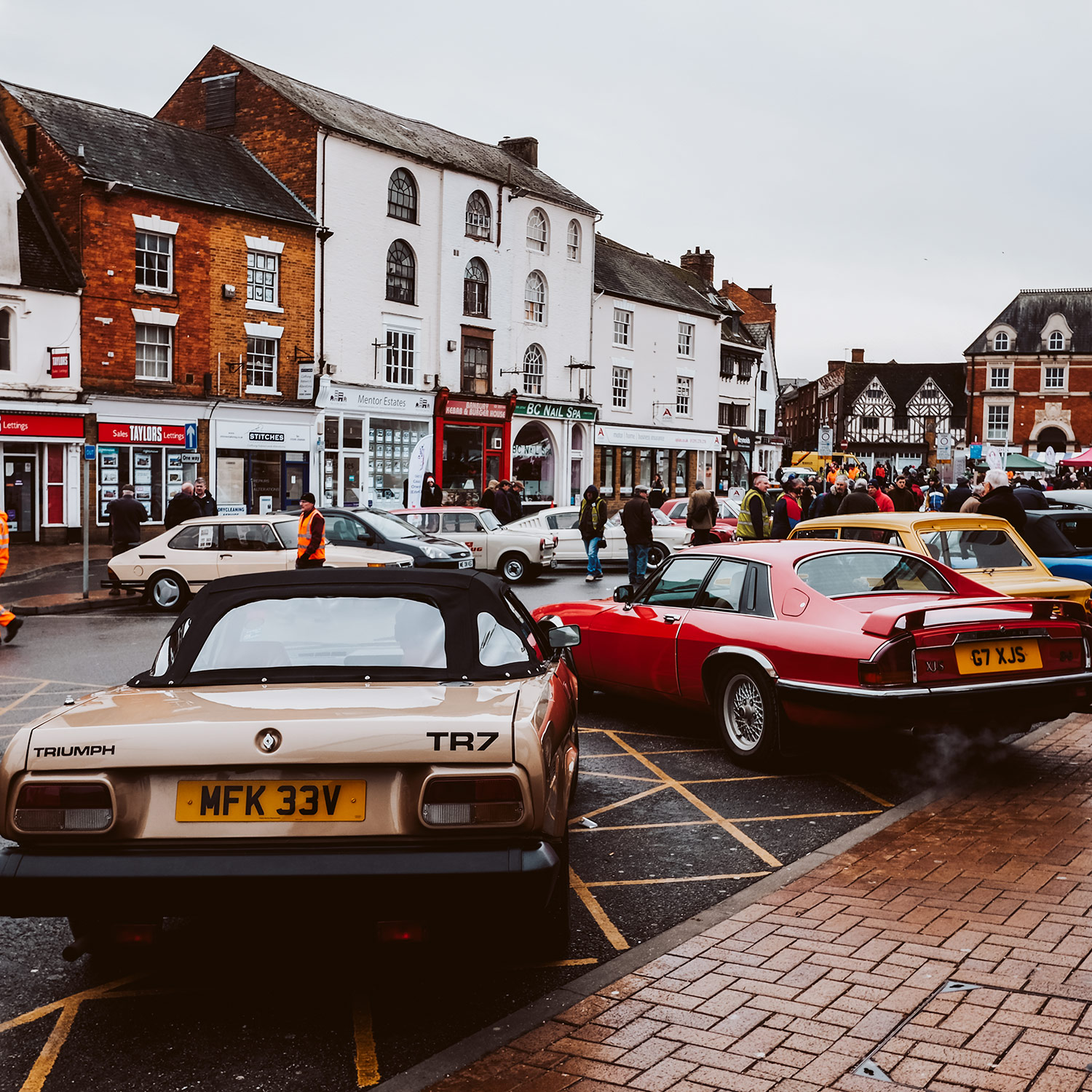 Image: The Rallye Monte Carlo Historique stops in Banbury every year so that enthusiasts can see the...