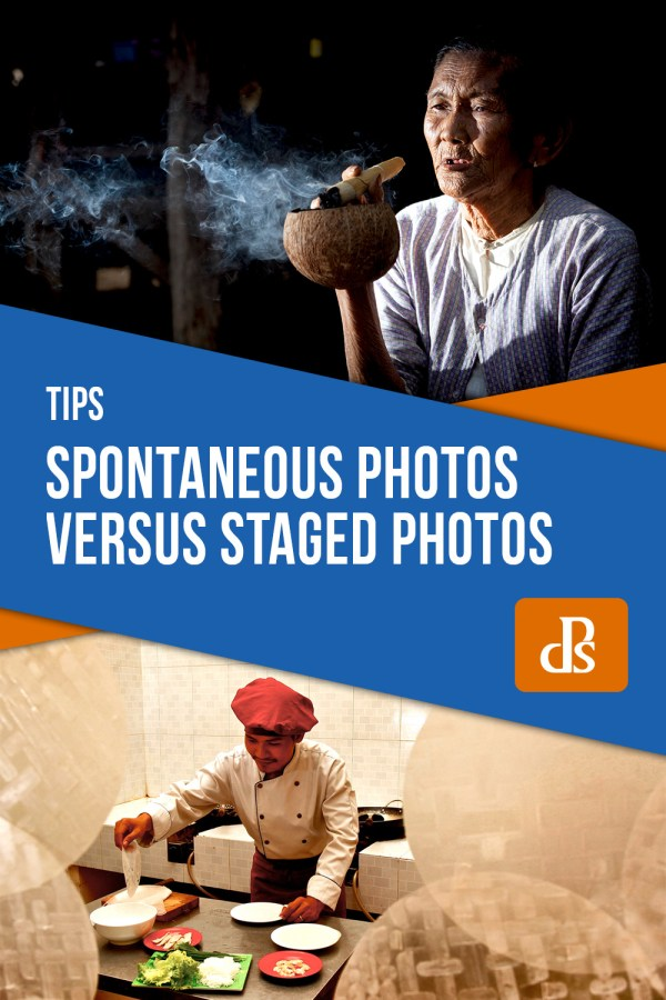 Spontaneous Photos Versus Staged Photos
