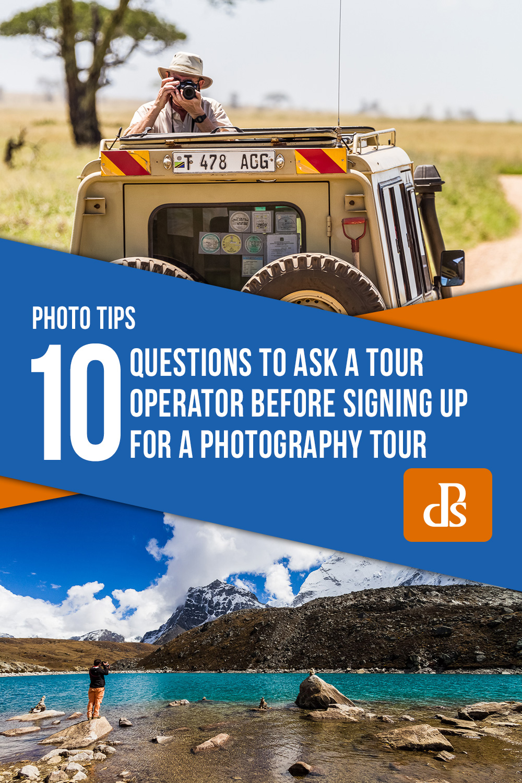 photography tour questions