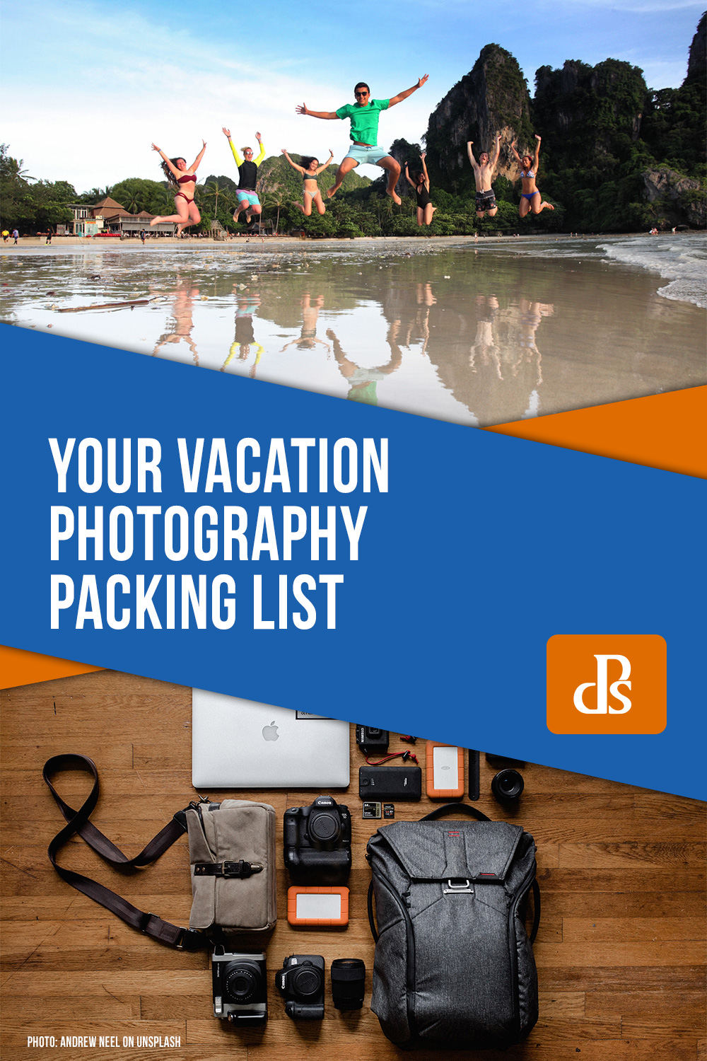 your vacation photography packing list
