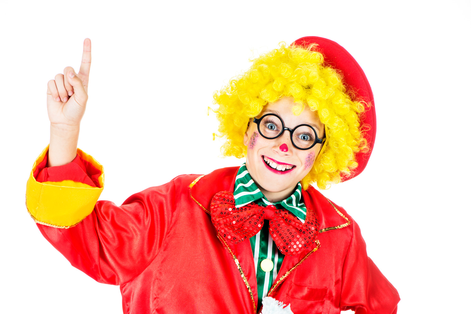 How To Make Better High Key Photographs Young Clown