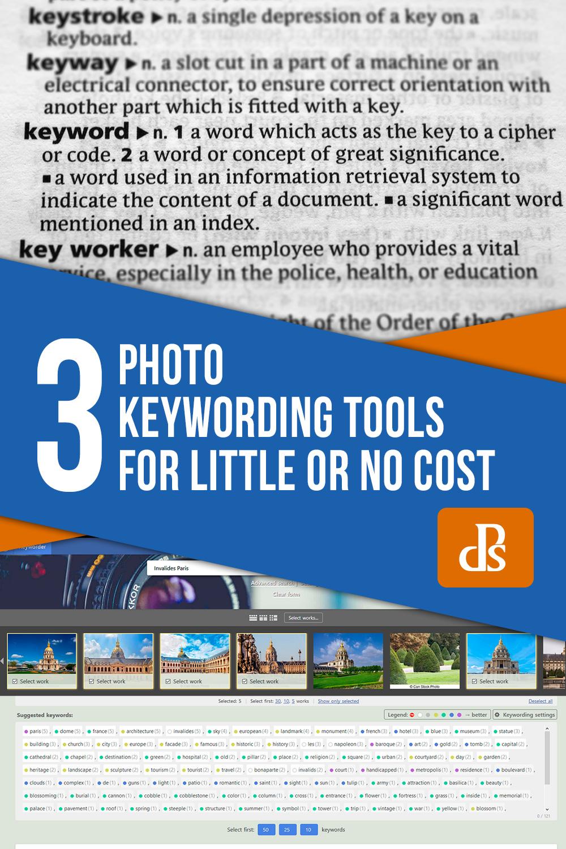photo keywording tools