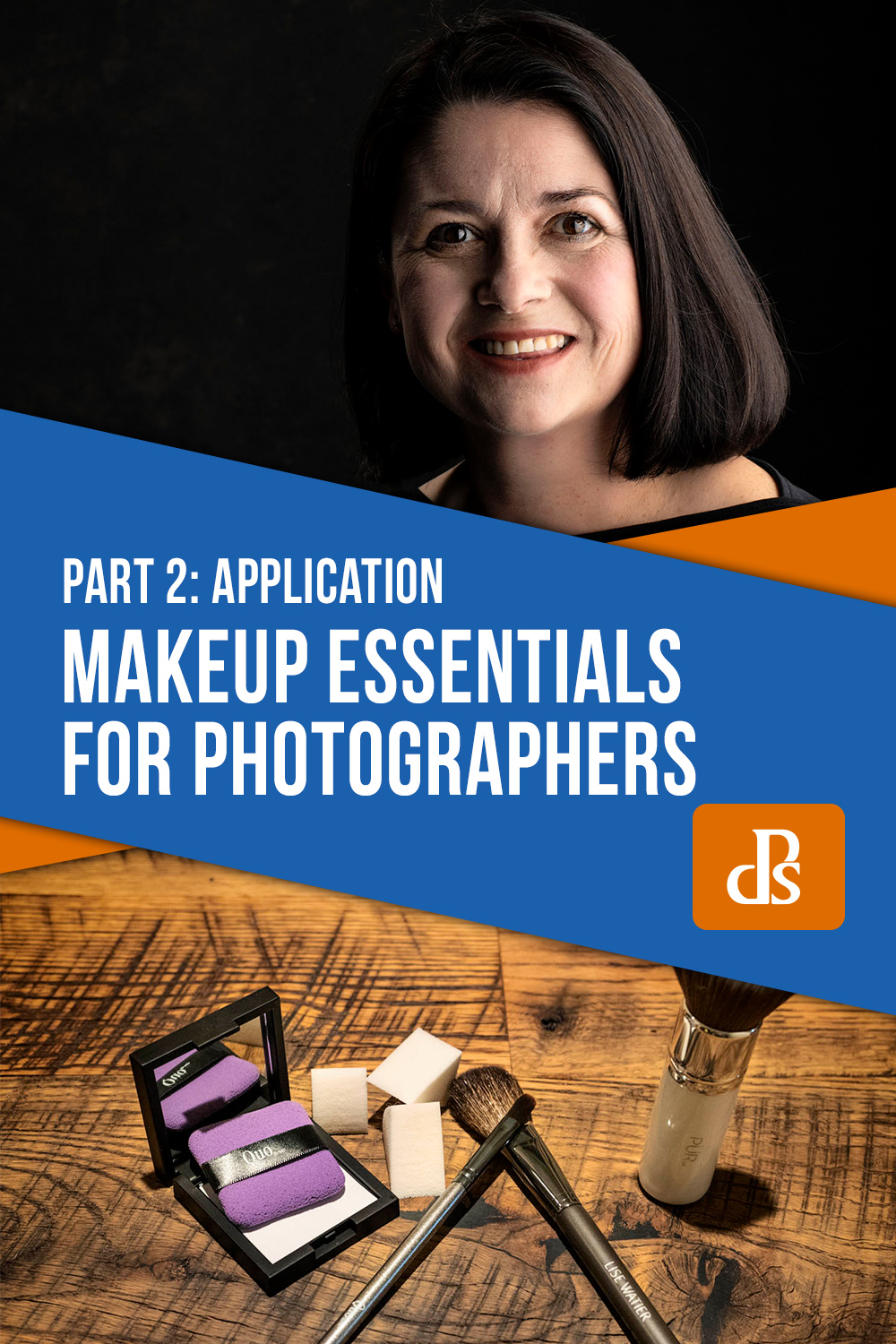 makeup application for photographers - part 2