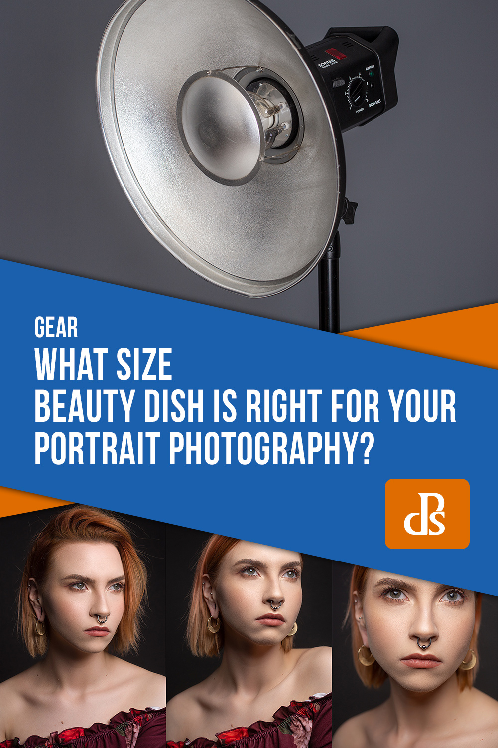 what size beauty dish