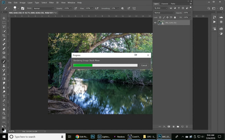 如何使用叠加图像平均模拟长时间曝光