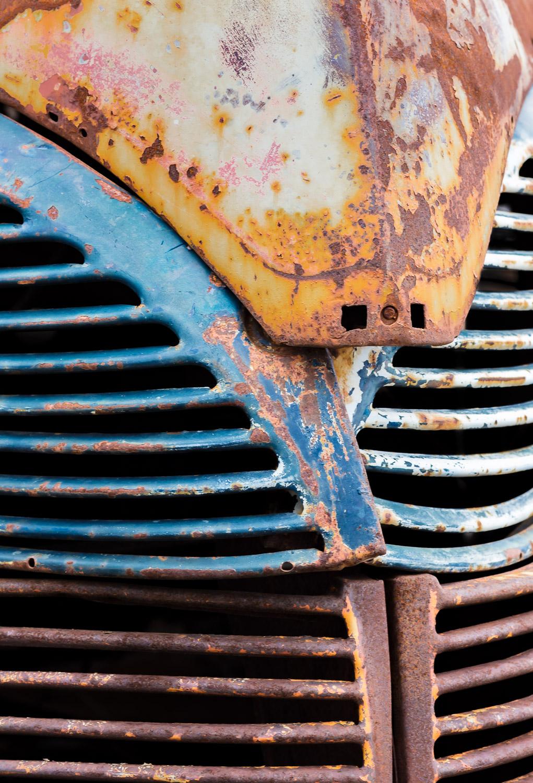 junkyard abstract hood