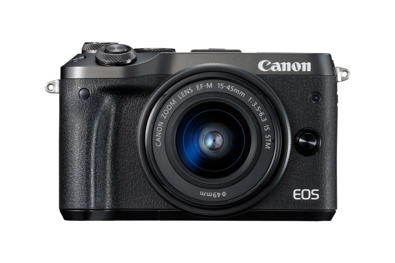 canon eos M6 canon sony announcements